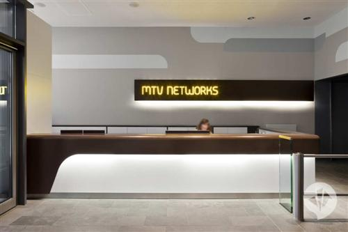 MTV Networks Headquarters Office Pictures by Dan Pearlman