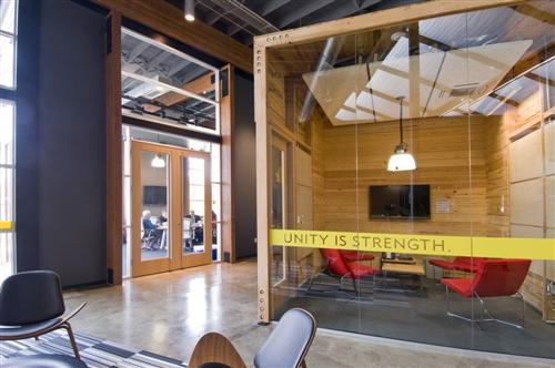 Lance Armstrong Foundation Office Design