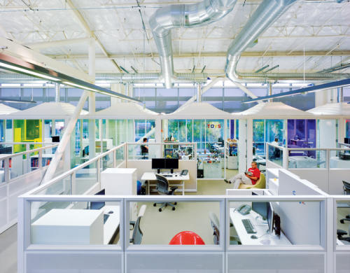 Google Office. Designer: One Work Place http://www.oneworkplace.com