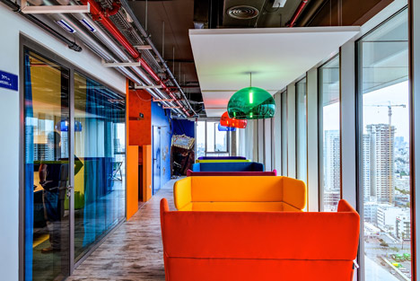 Google Office Tel Aviv  Google Office Tel Aviv Google Tel Aviv by Camenzind Evolution 8
