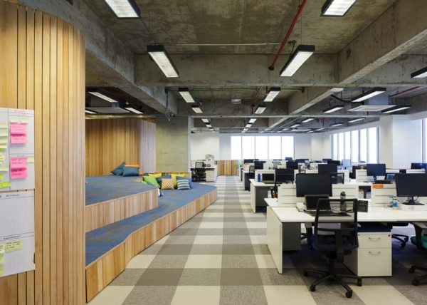 Walmart brazil office design gallery the best offices for Office design gallery