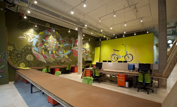 Bfg office design gallery the best offices on the planet for Ad agency office design