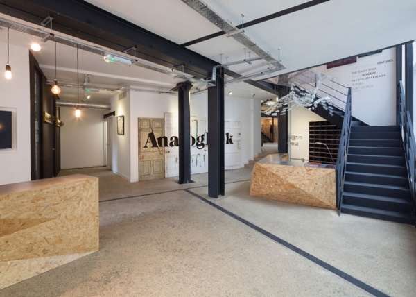 1000 images about concept office on pinterest reception for Industrial hotel design
