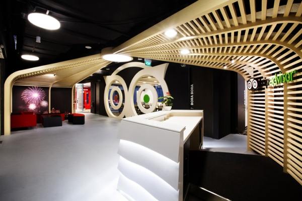 Tripadvisor Office Design by Kyoob-id