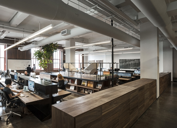Fiftythree office design gallery the best offices on the planet - Bureau style new york ...