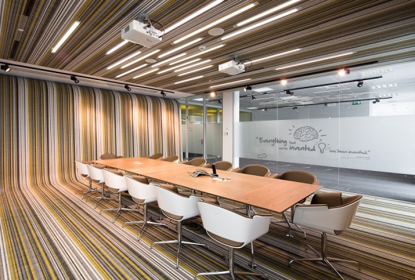 Fraunhofer Headquarters Office Design by Pedra Silva Architects