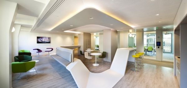 Sanofi office design gallery the best offices on the for Office design gallery