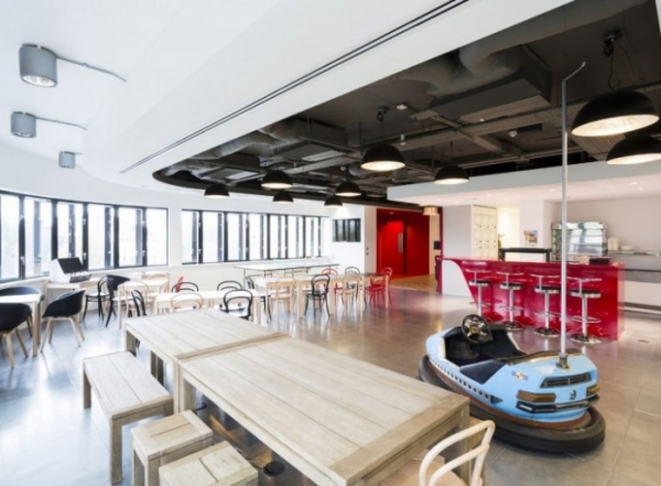 Virgin Management London Office Design by Spacelab