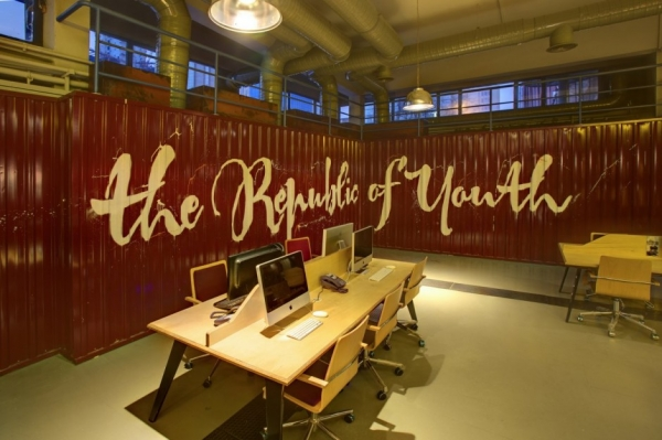 Youth Republic Office Design by Kontra