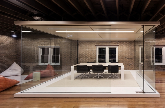 Ansarada Sydney office design by Those Architects