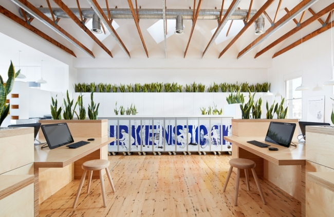 Birkenstock Australia Office Design By Melbourne Design Studios