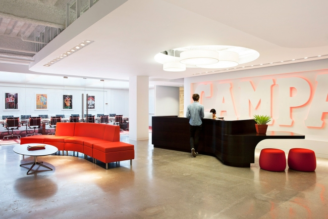 Campari Office Design by Rapt Studio