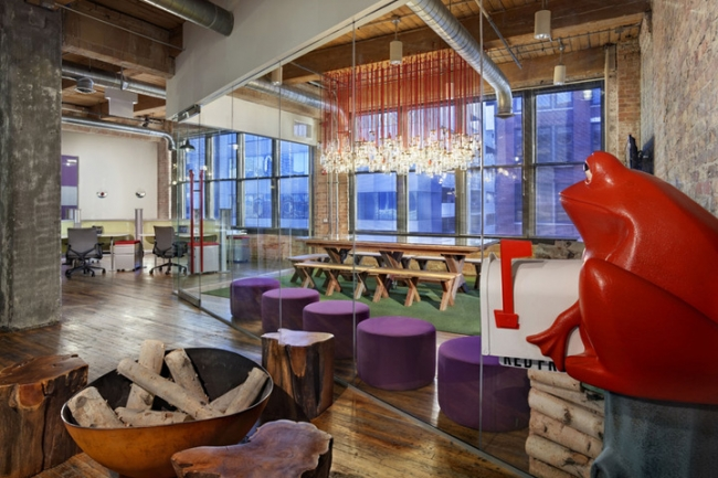 Red Frog Events Office Design by Nelson