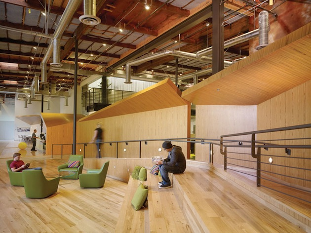 Google Venice Beach office design by HLW International