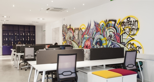 Verve the live agency office design gallery the best for Office design gallery