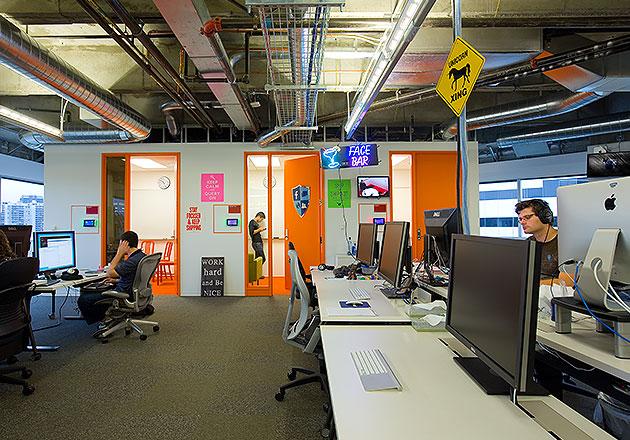 Facebook Seattle Office Design By Gensler
