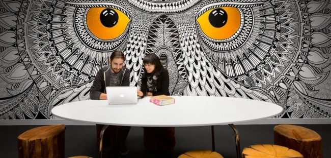 Hootsuite Office Design by SSDG Interiors
