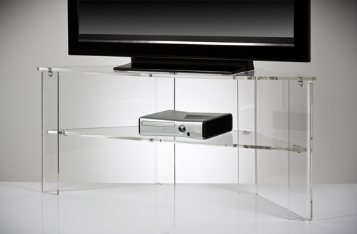 Acrylic Stand Designs : Clear acrylic tv stand office design gallery the best
