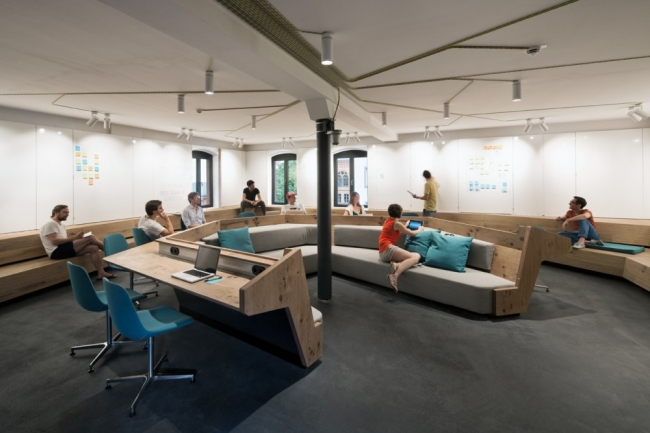 Soundcloud Office Headquarters Design by Kinzo