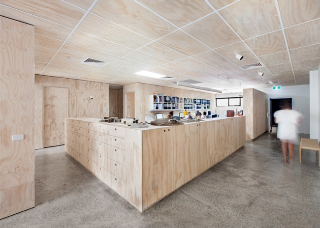 Clare Cousins Architects Shared Office Space Design
