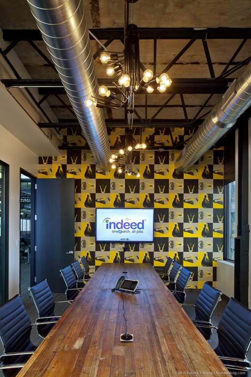 Indeed Recruitment Office Design