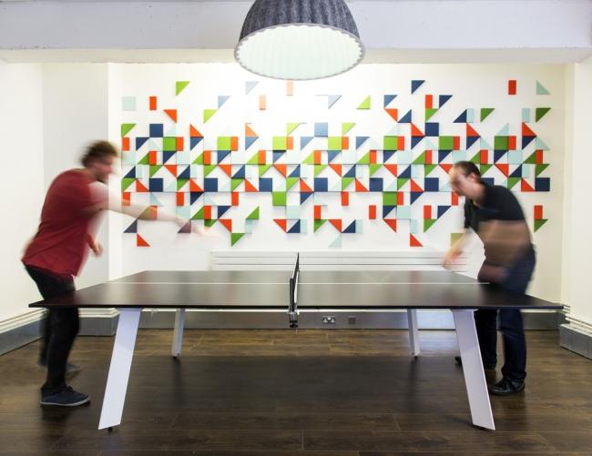 New Bamboo Startup Office Design by Kyla Bidgood