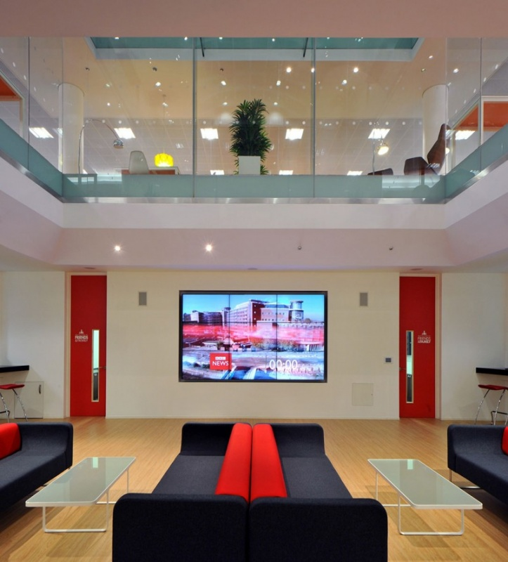 Rackspace Office Design by Morgan Lovell