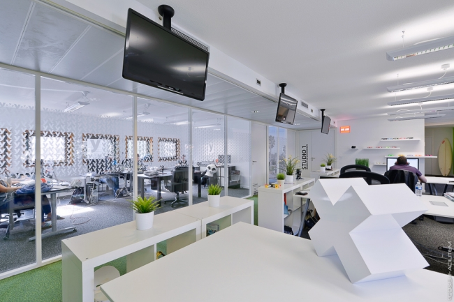 Melty Office Design by YAD Initiative