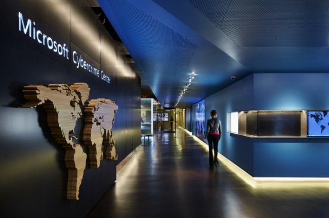 Microsoft Cybercrime Center Office Design by Olson Kundig