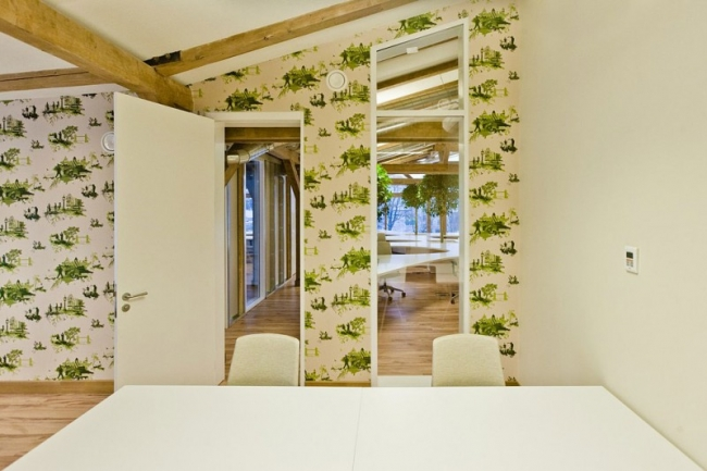 Office Greenhouse Riga Design by OpenAD
