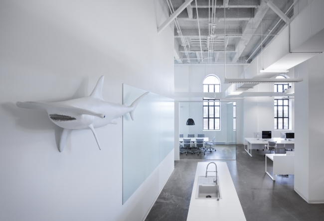 Blue Communications Agency Office Design