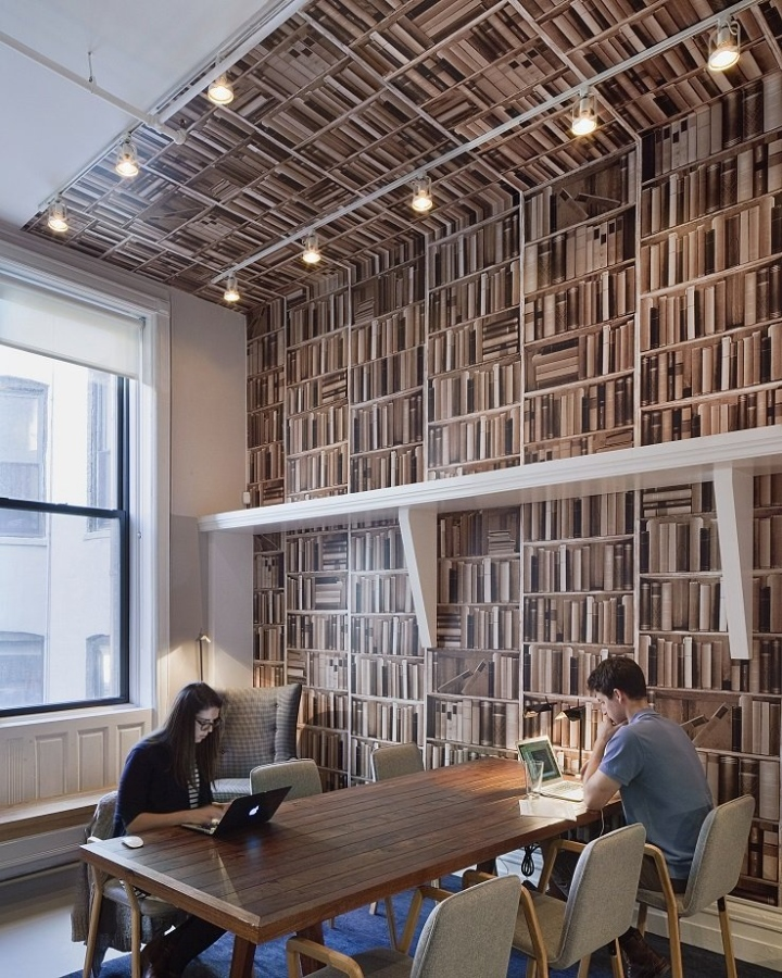 What if new york office office design gallery the for Office design new york
