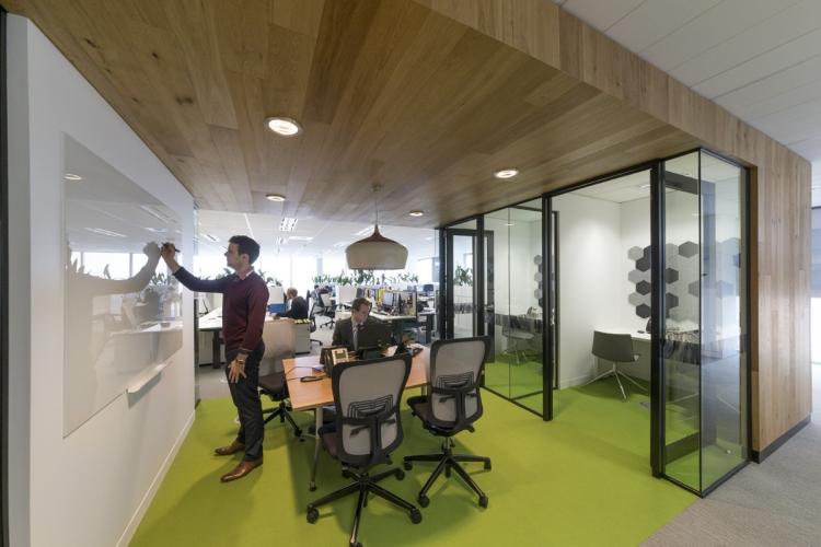 VicSuper Melbourne Office Design