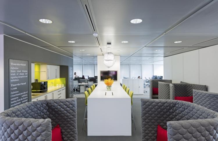 Thunderhead Office Design by AreaSq
