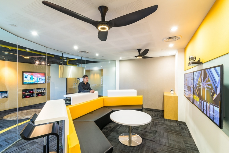 Big Ass Fan Office Design