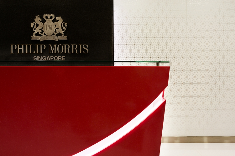Philip Morris Singapore Office Design