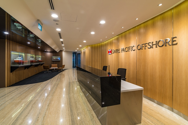Swire Pacific Offshore Singapore Office Design