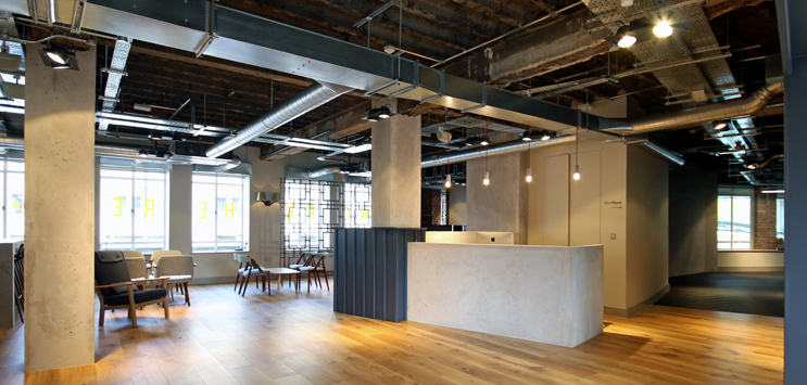 No.1 Aire Street Leeds Office Design