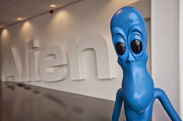 Alien Trick Hengelo Office Design