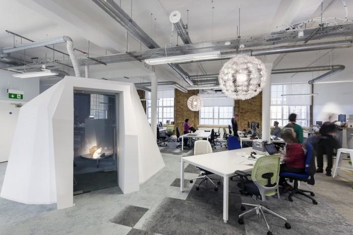 Friends Of The Earth London Office Design