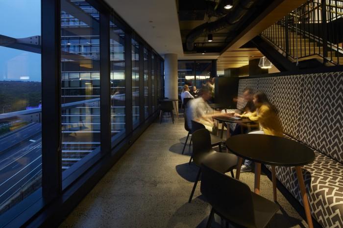 Fujitsu Sydney Office Design