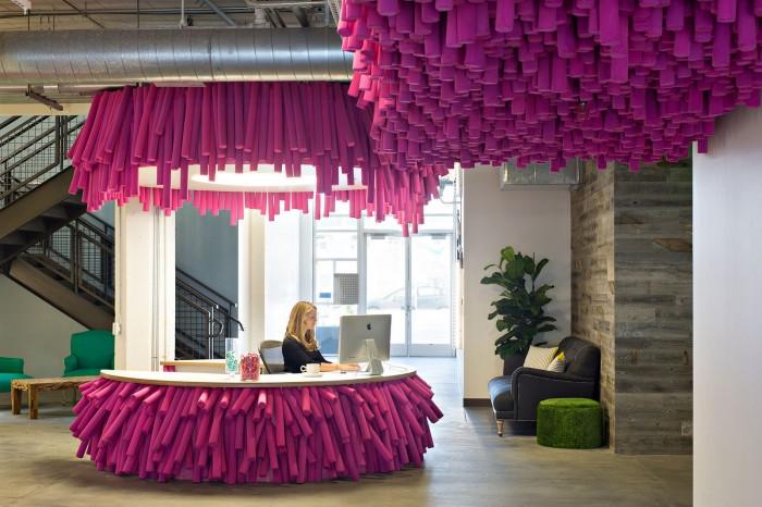 Lyft San Francisco Office Design