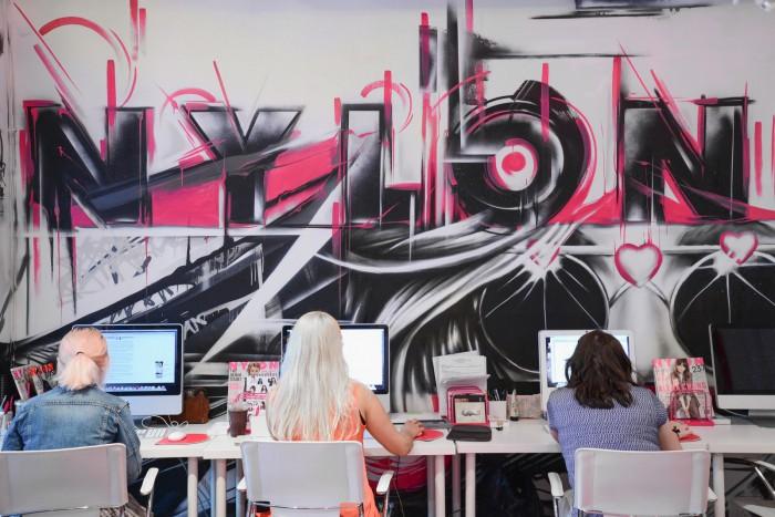 Nylon Magazine Office Design New York