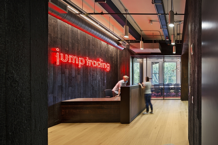Jump Trading Office Design