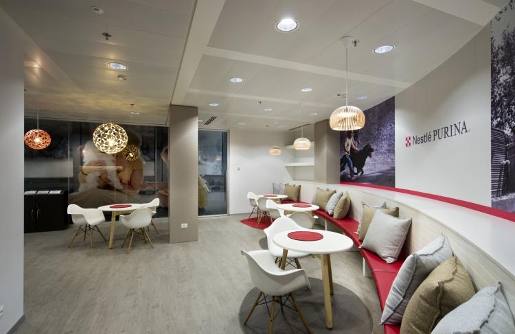 Nestlè Headquarters Milan Office Design
