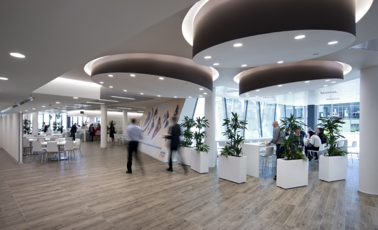 Nestlè Headquarters Milan Office Design