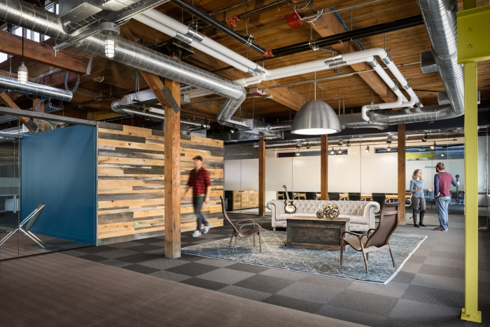 iZotope Cambridge Office Design Pictures