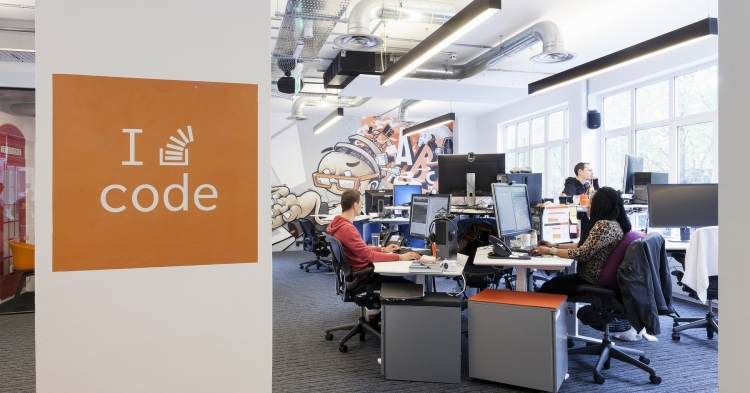 Stack Overflow London Office Design