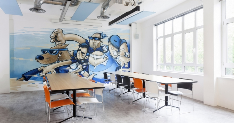 Stack Overflow London Office Design Office Design Gallery The Best London Office Design
