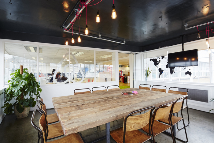Airbnb London Office Design